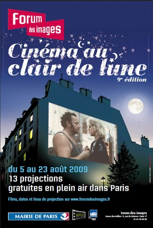 Cinéma au clair de lune - Du 5 au 23 Août 2009 - Paris